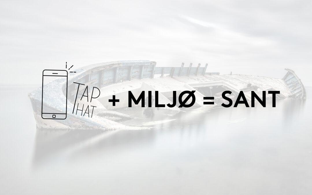 Kjøp en TapThat WiFi-deler – bidra til reduksjon av avfall i havet!